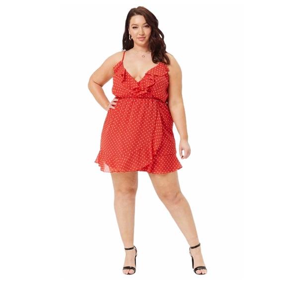 Forever 21 Dresses & Skirts - 3/$25 Plus Size Polka Dot Mini Dress